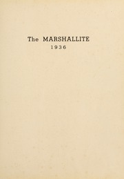 Page 7, 1936 Edition, John Marshall High School - Marshallite Yearbook (Richmond, VA) online yearbook collection