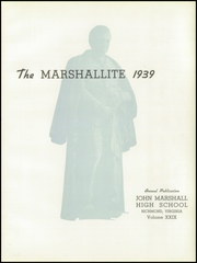 Page 7, 1939 Edition, John Marshall High School - Marshallite Yearbook (Richmond, VA) online yearbook collection