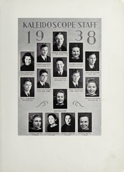 Page 13, 1938 Edition, Hopewell High School - Kaleidoscope Yearbook (Hopewell, VA) online yearbook collection