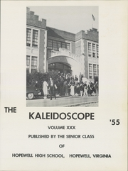 Page 5, 1955 Edition, Hopewell High School - Kaleidoscope Yearbook (Hopewell, VA) online yearbook collection