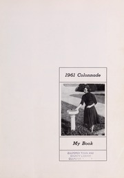 Page 5, 1961 Edition, Culpeper County High School - Colonnade Yearbook (Culpeper, VA) online yearbook collection