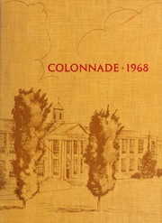 Culpeper County High School - Colonnade Yearbook (Culpeper, VA) online yearbook collection, 1968 Edition, Page 1