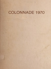 1970 Edition, Culpeper County High School - Colonnade Yearbook (Culpeper, VA)