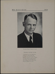 Page 8, 1934 Edition, Glass High School - Crest Yearbook (Lynchburg, VA) online yearbook collection