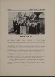 Page 73, 1935 Edition, Glass High School - Crest Yearbook (Lynchburg, VA) online yearbook collection