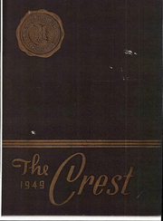 1949 Edition, Glass High School - Crest Yearbook (Lynchburg, VA)