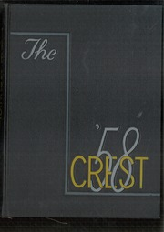 1958 Edition, Glass High School - Crest Yearbook (Lynchburg, VA)