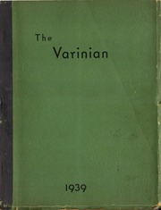 Varina High School - Varinian Yearbook (Richmond, VA) online yearbook collection, 1939 Edition, Page 1
