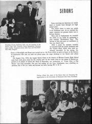 Page 17, 1951 Edition, Warren County High School - Mirror Yearbook (Front Royal, VA) online yearbook collection
