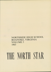 Page 5, 1965 Edition, Northside High School - North Star Yearbook (Roanoke, VA) online yearbook collection