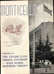 Page 9, 1943 Edition, Thomas Jefferson High School - Monticello Yearbook (Richmond, VA) online yearbook collection