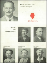 Page 16, 1947 Edition, Thomas Jefferson High School - Monticello Yearbook (Richmond, VA) online yearbook collection