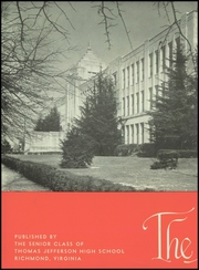 Page 6, 1947 Edition, Thomas Jefferson High School - Monticello Yearbook (Richmond, VA) online yearbook collection