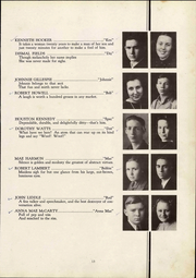 Page 17, 1938 Edition, Richlands High School - Reminiscences Yearbook (Richlands, VA) online yearbook collection