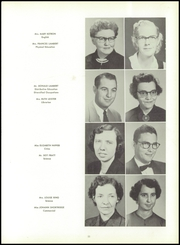 Page 15, 1956 Edition, Richlands High School - Reminiscences Yearbook (Richlands, VA) online yearbook collection