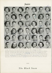 Page 40, 1951 Edition, William Byrd High School - Black Swan Yearbook (Vinton, VA) online yearbook collection