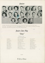 Page 41, 1951 Edition, William Byrd High School - Black Swan Yearbook (Vinton, VA) online yearbook collection