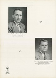 Page 18, 1952 Edition, William Byrd High School - Black Swan Yearbook (Vinton, VA) online yearbook collection