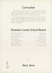 Page 22, 1952 Edition, William Byrd High School - Black Swan Yearbook (Vinton, VA) online yearbook collection