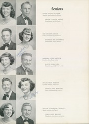 Page 25, 1952 Edition, William Byrd High School - Black Swan Yearbook (Vinton, VA) online yearbook collection
