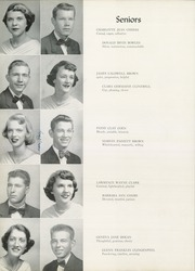 Page 26, 1952 Edition, William Byrd High School - Black Swan Yearbook (Vinton, VA) online yearbook collection