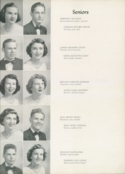 Page 29, 1952 Edition, William Byrd High School - Black Swan Yearbook (Vinton, VA) online yearbook collection