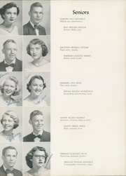 Page 31, 1952 Edition, William Byrd High School - Black Swan Yearbook (Vinton, VA) online yearbook collection