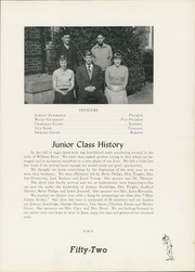 Page 39, 1952 Edition, William Byrd High School - Black Swan Yearbook (Vinton, VA) online yearbook collection