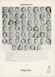 Page 43, 1952 Edition, William Byrd High School - Black Swan Yearbook (Vinton, VA) online yearbook collection