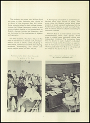 Page 17, 1958 Edition, William Byrd High School - Black Swan Yearbook (Vinton, VA) online yearbook collection
