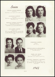 Page 15, 1945 Edition, Martinsville High School - Mavahi Yearbook (Martinsville, VA) online yearbook collection