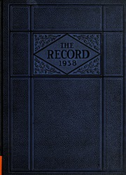 Robert E Lee High School - Record Yearbook (Staunton, VA) online yearbook collection, 1938 Edition, Page 1