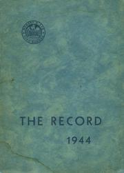 1944 Edition, Robert E Lee High School - Record Yearbook (Staunton, VA)