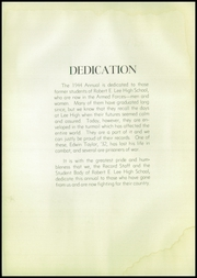Page 6, 1944 Edition, Robert E Lee High School - Record Yearbook (Staunton, VA) online yearbook collection