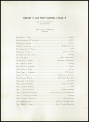 Page 10, 1946 Edition, Robert E Lee High School - Record Yearbook (Staunton, VA) online yearbook collection