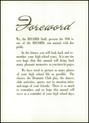 Page 8, 1950 Edition, Robert E Lee High School - Record Yearbook (Staunton, VA) online yearbook collection
