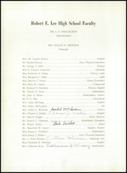 Page 10, 1953 Edition, Robert E Lee High School - Record Yearbook (Staunton, VA) online yearbook collection