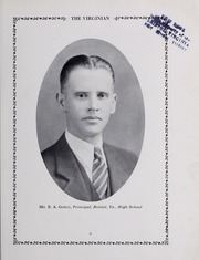 Page 15, 1930 Edition, Virginia High School - Virginian Yearbook (Bristol, VA) online yearbook collection