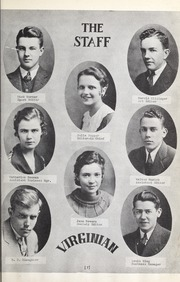 Page 13, 1933 Edition, Virginia High School - Virginian Yearbook (Bristol, VA) online yearbook collection