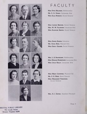 Page 12, 1939 Edition, Virginia High School - Virginian Yearbook (Bristol, VA) online yearbook collection