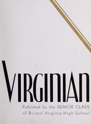 Page 7, 1939 Edition, Virginia High School - Virginian Yearbook (Bristol, VA) online yearbook collection