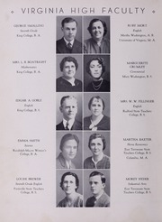 Page 12, 1940 Edition, Virginia High School - Virginian Yearbook (Bristol, VA) online yearbook collection
