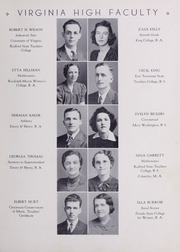 Page 13, 1940 Edition, Virginia High School - Virginian Yearbook (Bristol, VA) online yearbook collection