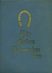 1958 Edition, Orange County High School - Golden Horseshoe Yearbook (Orange, VA)