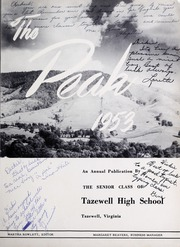 Page 5, 1953 Edition, Tazewell High School - Peak Yearbook (Tazewell, VA) online yearbook collection