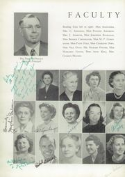Page 16, 1949 Edition, Marion High School - Hurricane Yearbook (Marion, VA) online yearbook collection