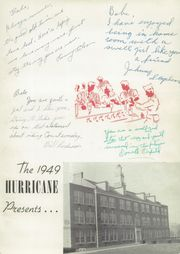 Page 5, 1949 Edition, Marion High School - Hurricane Yearbook (Marion, VA) online yearbook collection
