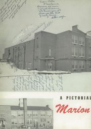 Page 6, 1949 Edition, Marion High School - Hurricane Yearbook (Marion, VA) online yearbook collection