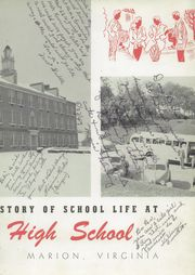 Page 7, 1949 Edition, Marion High School - Hurricane Yearbook (Marion, VA) online yearbook collection
