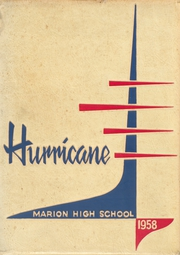 1958 Edition, Marion High School - Hurricane Yearbook (Marion, VA)